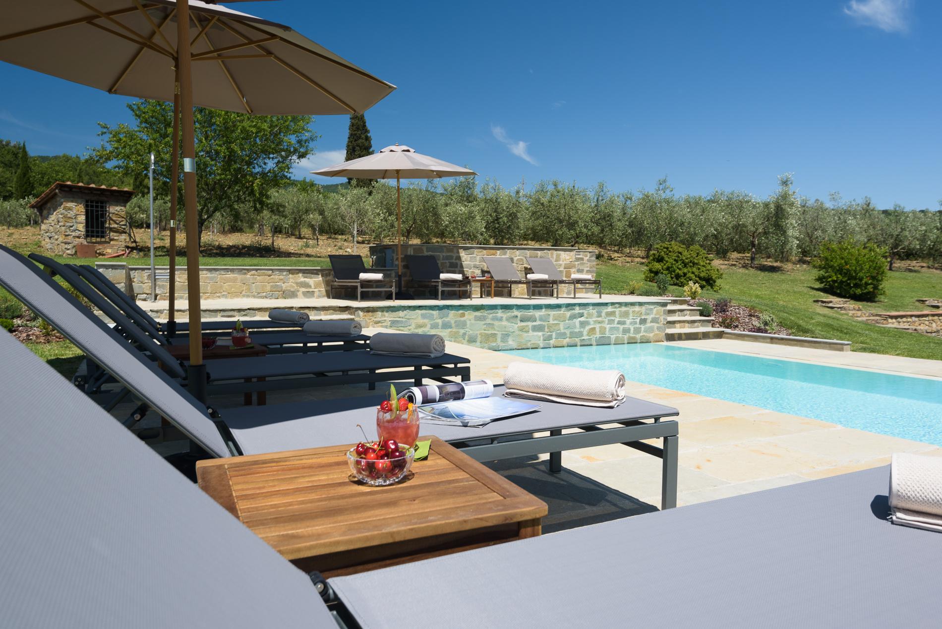 Piscina Su Terreno In Pendenza realizzazione piscina ca' maggiore – maurri + palai architetti